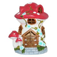 See more information about the Magical Garden Solar Woodland Mushroom - Brown Door
