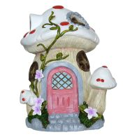 See more information about the Magical Garden Solar Woodland Mushroom - Pink Door