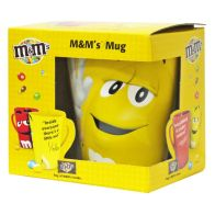 M&Ms Chocolate Mug 45g - Yellow