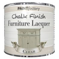 See more information about the Paint Factory Chalk Finish Furniture Lacquer 200ml - Clear