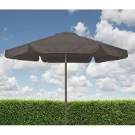 See more information about the Croft Light Grey 2.2m Aluminium Tilt Outdoor Garden Parasol