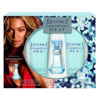 See more information about the Beyoncé Shimmering Heat 3 Piece Gift Set
