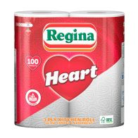See more information about the Regina Heart Kitchen Roll 3 Ply 2 Pack