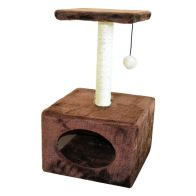 See more information about the Cat Scratcher With Ball Attachment 30 x 30 x 53cm