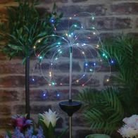 See more information about the Bright Garden Solar Starburst Stake Light Multi-Coloured