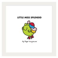 See more information about the Little Miss Splendid Framed Print Wall Art 10 x 10 Inch