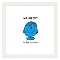 See more information about the Mr Men Mr Perfect Framed Print Wall Art 10 x 10 Inch