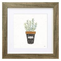 See more information about the Herbs Rosemary Framed Print Wall Art 10 x 10 Inch