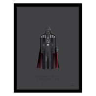 See more information about the Sci-Fi Costumes Darth Vader Framed Print Wall Art 14 x 11 Inch