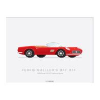 See more information about the Movie Transport 1963 Ferrari Spyder Framed Print Wall Art 14 x 11 Inch