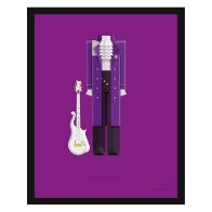 See more information about the Music Legends Prince Suit Framed Print Wall Art 14 x 11 Inch