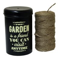 See more information about the Decorative Garden String Dispenser With 100m Jute String