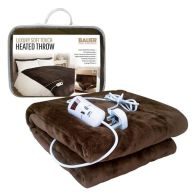 See more information about the Bauer Luxury Soft Touch Heat Adjustable Programmable Throw 120x160cm