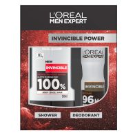 See more information about the L'Oreal Expert Invincible Shower 2 Piece Gift Set