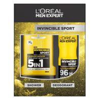 See more information about the L'Oreal Expert Invincible Sport Shower Gel Deoderant 2 Piece Gift Set
