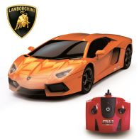 See more information about the Lamborghini Aventador LP 700-4 Orange 2.4Ghz 1:24 Scale R/C Car