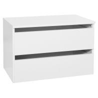 See more information about the 2 Drawer Extra Wide White Chest