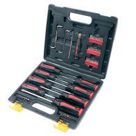 See more information about the Screwdriver Set 60 Pieces with Carry Case