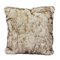 See more information about the Hamilton McBride Faux Fur Cushion 50 x 50cm - Cream
