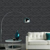 See more information about the Black Brick Wallpaper
