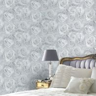 See more information about the Reverie Silver Wallpaper