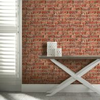 See more information about the Urban Brick Red Wallpaper