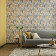 See more information about the Malmo Ochre Wallpaper