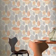 See more information about the Malmo Orange Wallpaper