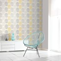 See more information about the Scandi Leaf Yellow Wallpaper