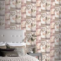 See more information about the Love Paris Blush Wallpaper