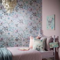 See more information about the Fairytale Ice Blue Wallpaper