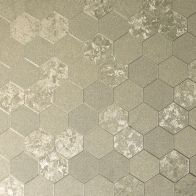 See more information about the Foil Honeycomb Rose Gold Wallpaper
