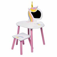 See more information about the Unicorn Vanity Dressing Table Set