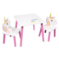 See more information about the Unicorn Play Table With Two Chairs