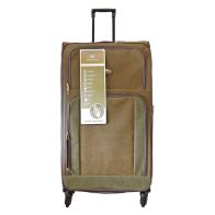 See more information about the Compass Luggage 35 Inch Trolley Brown & Green Suitcase
