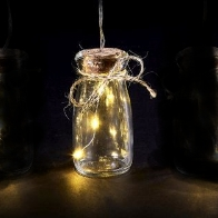 See more information about the LED Warm White Indoor Rustic Bottles Light Chain
