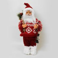 See more information about the 30cm Standing Santa Decoration