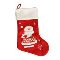 See more information about the Red Fleece Santa Christmas Stocking