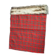 See more information about the Red Check & Faux Fur Christmas Sack