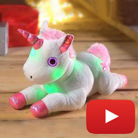 See more information about the Light Up Musical Unicorn Plush Toy
