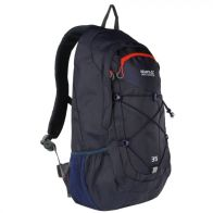 See more information about the Regatta Atholl II 35L Rucksack Dark Denim Amber Glow