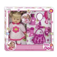 See more information about the Tiny Doll Hair and Accessories Set