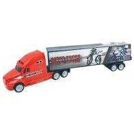 See more information about the Team Power Red Motor Cross Truck Toy 39cm