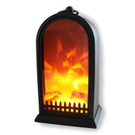 See more information about the LED Fireplace Lantern Battery Operated - 26cm