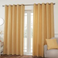 See more information about the Hamilton McBride Miami Eyelet Curtains Yellow 46 x 54cm