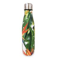 See more information about the Double Wall Stainless Steel Bottle - Pink Jungle