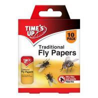 See more information about the Time's Up Traditional Fly Papers 10 Pack