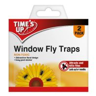 See more information about the Time's Up Window Fly Traps 2 Pack