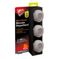See more information about the Time's Up Mini-Sonic Mouse Repellent 3 Pack