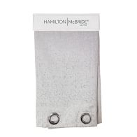 See more information about the Hamilton McBride Lurex Panel Curtains Silver 54 x 90cm